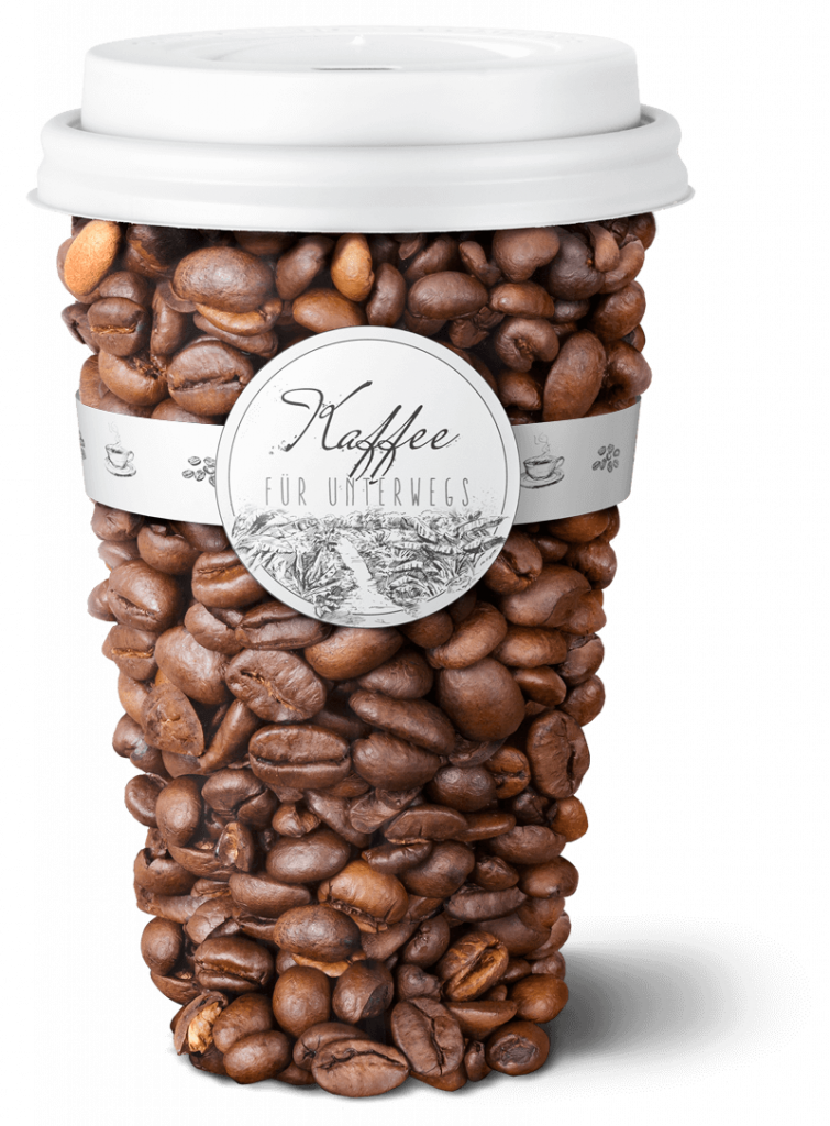 Digital Kaffee Artwork photoshop aus dem design studio Lauktien & Friends