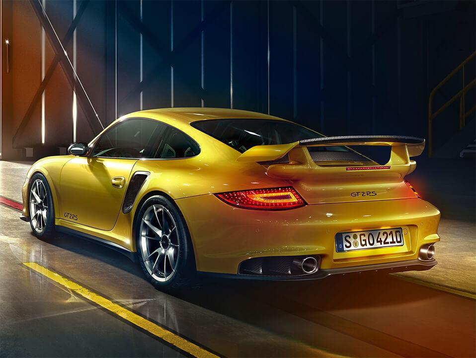 Audi-Rendering CG Automobile 3D Renders Porsche