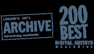 Lürzers Archiv: Rüdiger Lauktien 200 Best Digital Artists weltweit