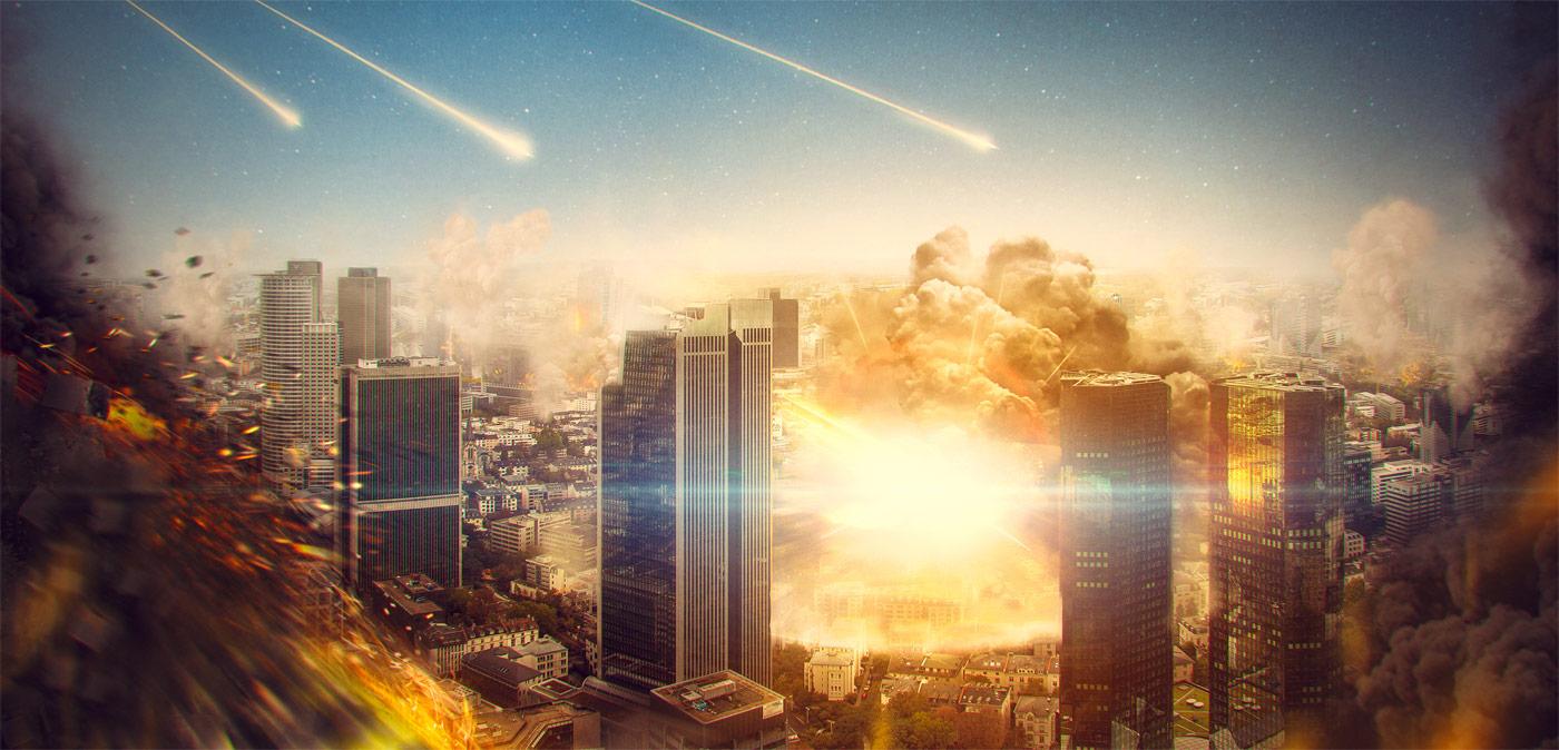 City Apocalypse - Artwork von Photoshop & Digital Artist Rüdiger Lauktien